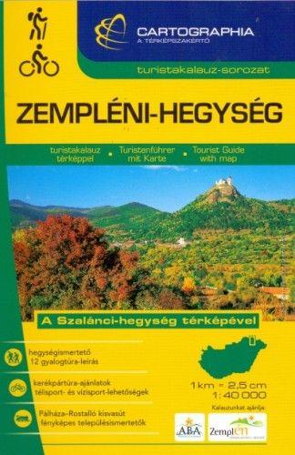 Zempléni-hegység turistakalauz 1:40 000 -  pdf epub