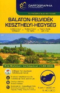 Balaton-felvidék, Keszthelyi-hegység turistakalauz 1 : 40 000