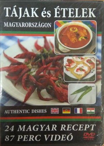 Tájak és ételek Magyarországon - DVD