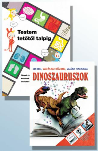 Testem tetőtől talpig + Dinoszauruszok 3D-ben csomag