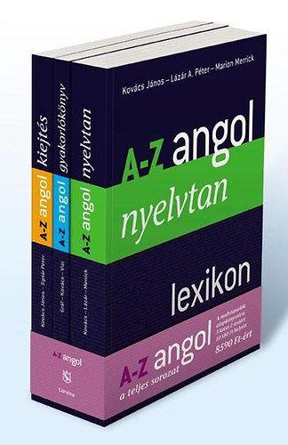 A-Z ANGOL - Lexikon, Gyakorlókönyv és Kiejtés cd-vel