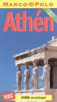 Athén - Marco Polo - Athén-várostérképpel
