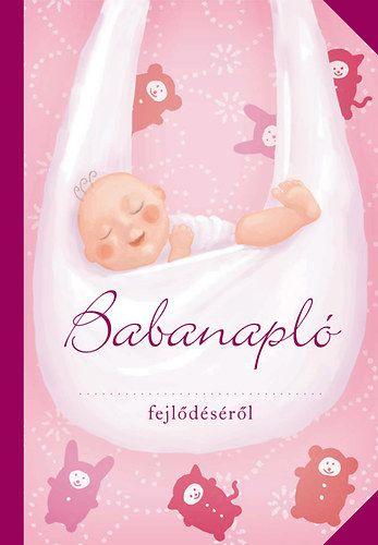Babanapló (lány, rózsaszín)