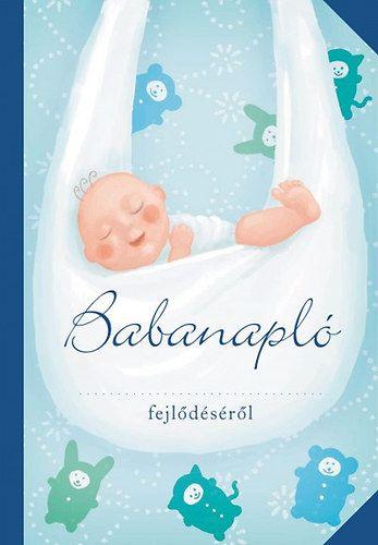 Babanapló (fiú,kék)