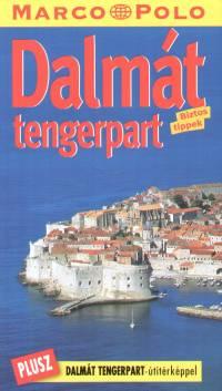 Dalmát tengerpart - Marco Polo - Útitérképpel