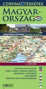 Magyarország - Idegenforgalmi autóstérkép