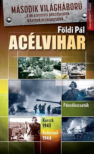 Acélvihar-Páncéloscsaták. Kurszk 1943. Ardennek 1944 - Földi Pál |