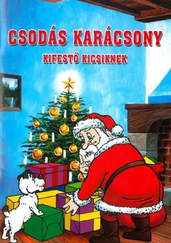 Csodás karácsony - Kifestő kicsiknek
