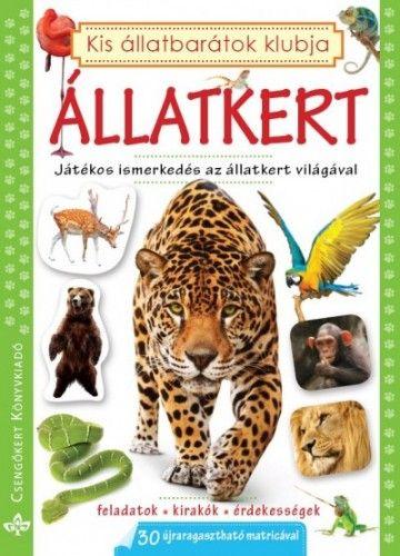 Állatkert - Játékos ismerkedés az állatkert világával