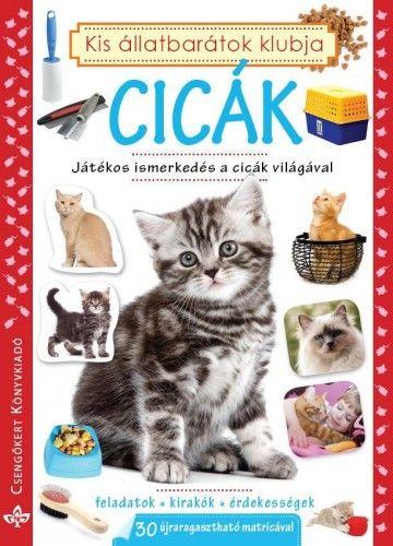 Cicák - Játékos ismerkedés a cicák világával A4