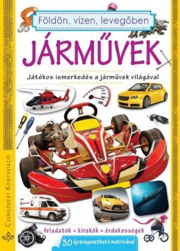Járművek-Játékos ismerkedés a járművek világával -  pdf epub