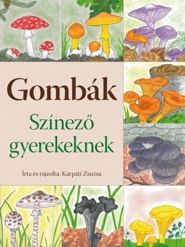 Gombák - Színező gyerekeknek