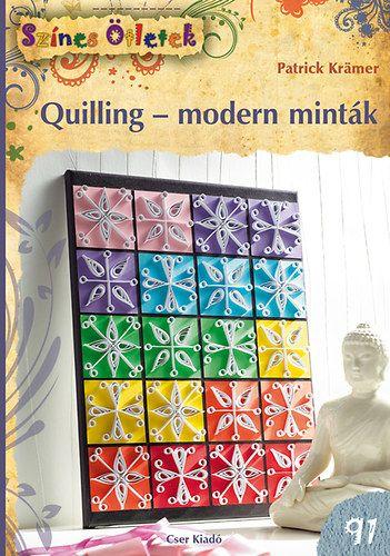 Quilling - modern minták