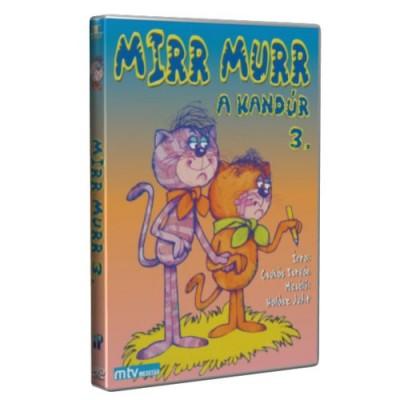 Mirr murr, a kandúr 3. - DVD