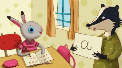 Kicsi Mimi iskolás lett - diafilm