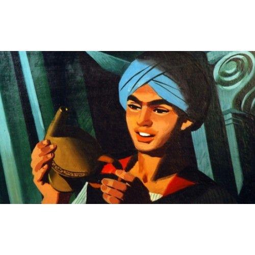 Az Ezeregyéjszaka meséiből - Aladdin és a csodalámpa - diafilm