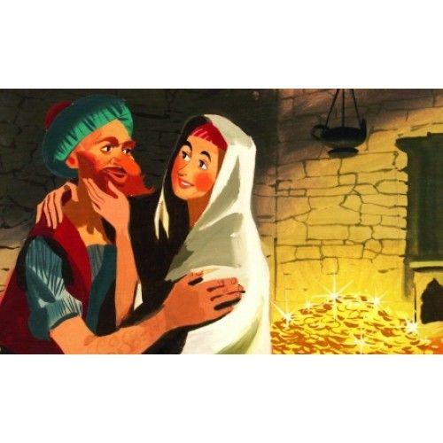 Az Ezeregyéjszaka meséiből - Ali Baba és a negyven rabló - diafilm