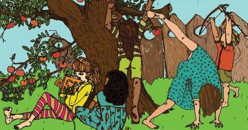 Bengáli tigris a hátsó kertben - Diafilm