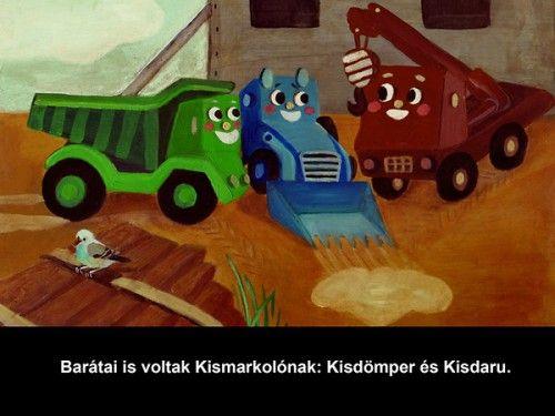 Kismarkoló - diafilm