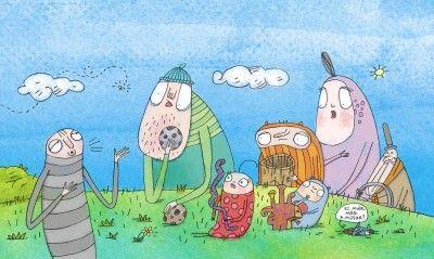 Kuflizenekar (+Odalent a fűben) - Diafilm