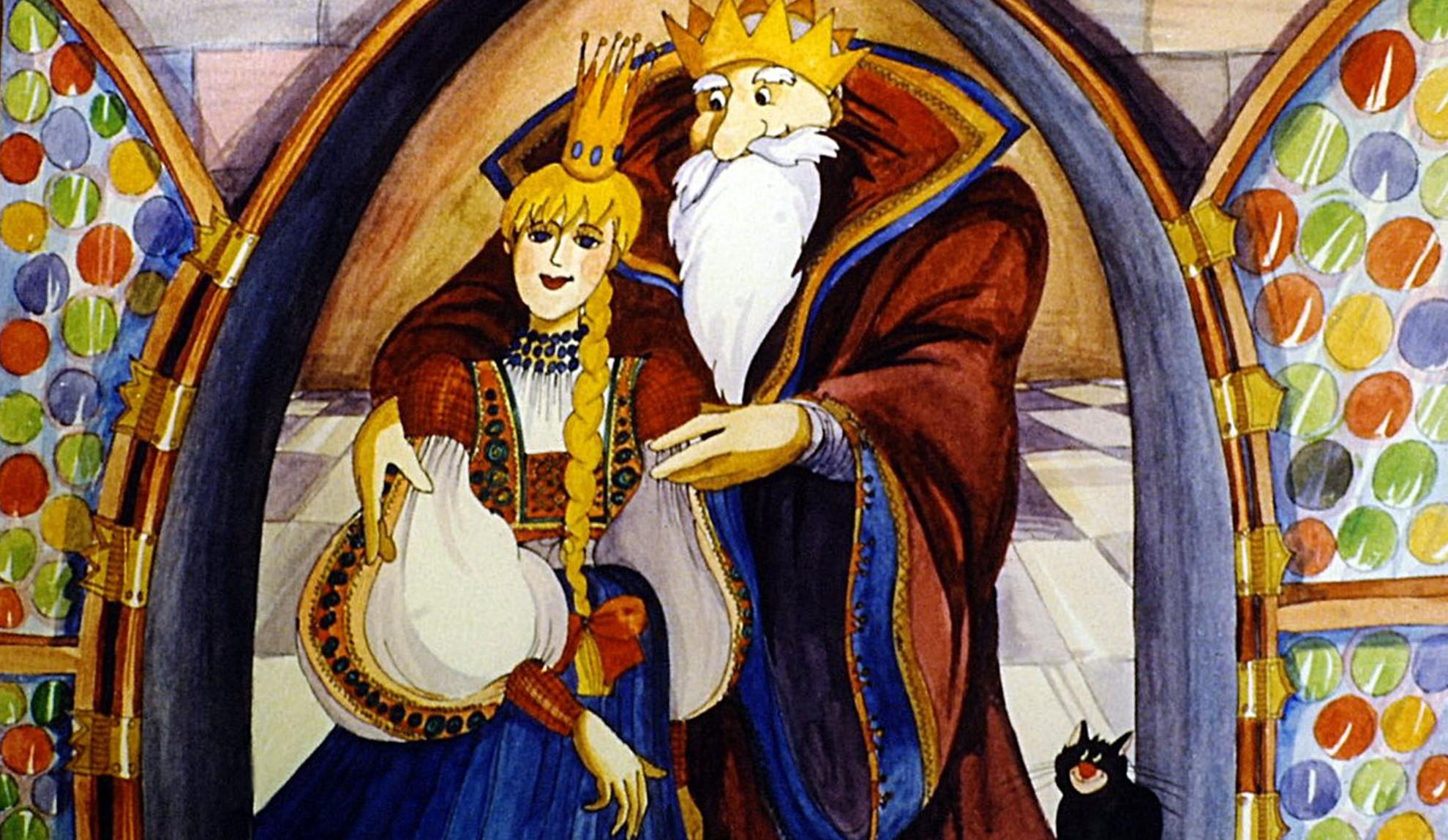 Szélike és János királyfi - diafilm