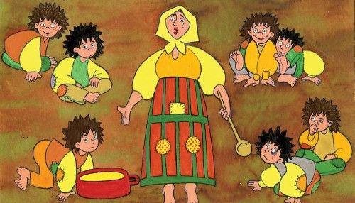 Magyar népmese - A kicsi dió - diafilm