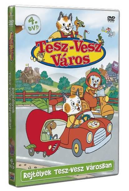 Tesz-Vesz város 4. - DVD