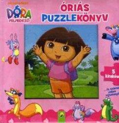 Dóra a felfedező - Óriás puzzlekönyv