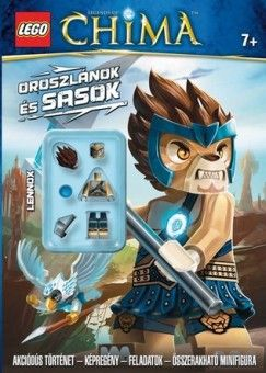 Oroszlánok és sasok - LEGO® Legends of Chima™ minifigurás foglalkoztató -  pdf epub