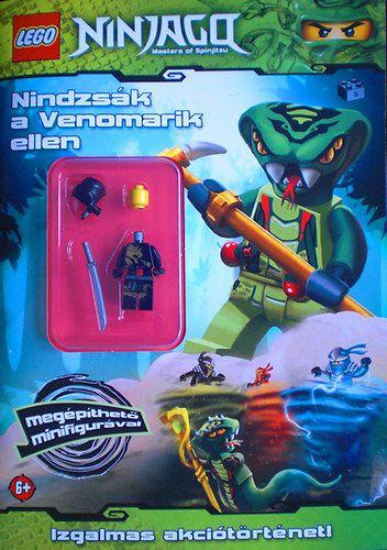 LEGO 9. - Nindzsák a Venomari ellen - Ninjago - minifigurás foglalkoztató -  pdf epub