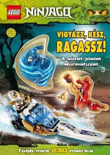 Vigyázz, kész, ragassz! - A sötét jóslat - LEGO Ninjago  matricás munkafüzet