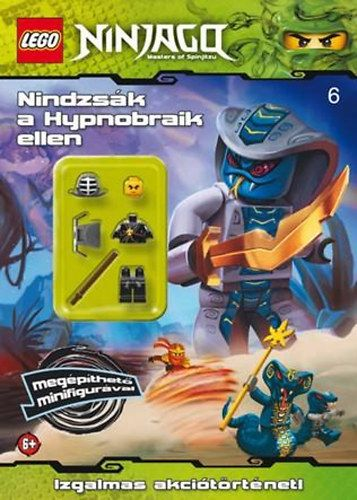 LEGO 6. - Nindzsák a Hypnobraik ellen - Ninjago - minifigurás foglalkoztató