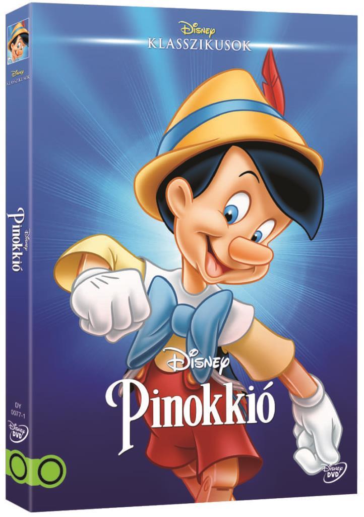 Pinokkió (O-ringes, gyűjthető borítóval) - DVD