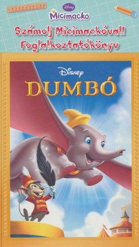 Dumbo könyv + ajándék Micimackó foglalkoztató