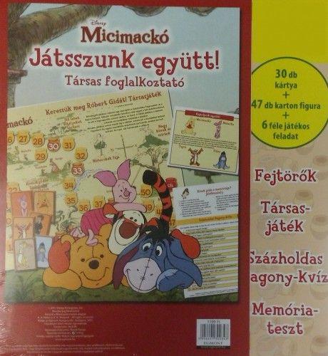 Micimackó - Társas foglalkoztató -  pdf epub