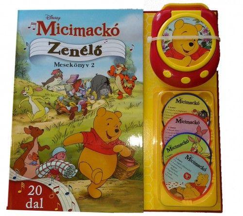 Micimackó - Zenélő mesekönyv 2. - 20 dallal - Disney pdf epub