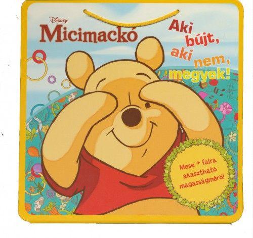 Disney Micimackó - Aki bújt, aki nem, megyek! Falra akasztható magasságmérő