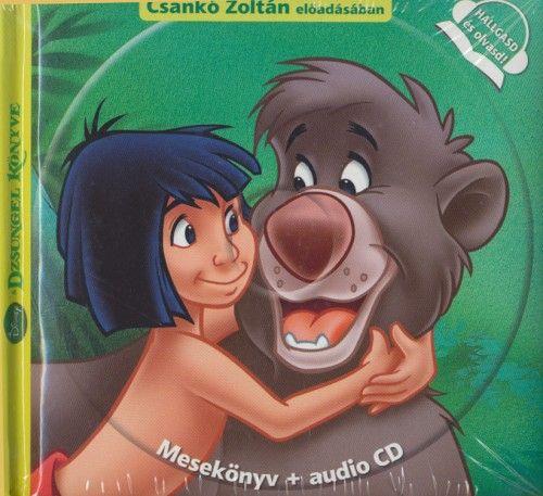 Disney A dzsungel könyve - Mesekönyv + audio CD