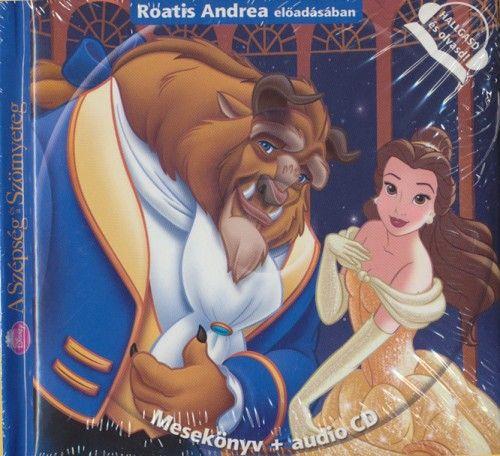 Disney A szépség és a szörnyegeg - Mesekönyv + audio CD -  pdf epub