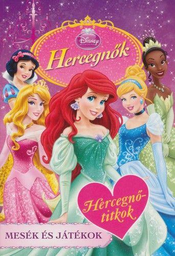 Hercegnőtitkok - Disney Hercegnők -  pdf epub