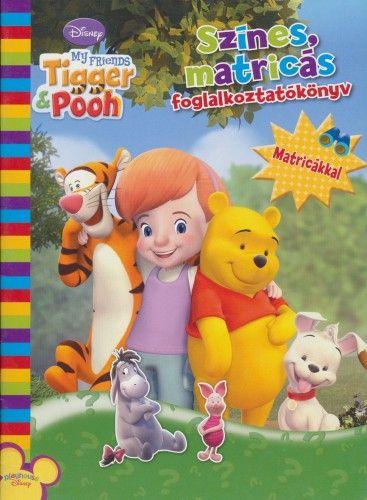 Disney - Barátaid Tigris és Mackó - színes, matricás foglalkoztatókönyv matricákkal -  pdf epub