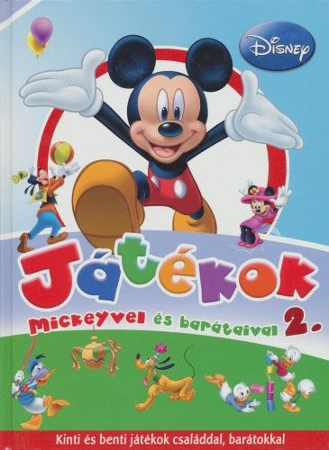 Játékok Mickeyvel és barátaival 2. -  pdf epub