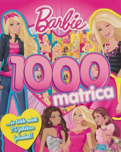 Markwarth Zsófia - Barbie 1000 matrica