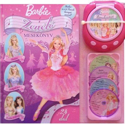 Barbie Zenélő Mesekönyv
