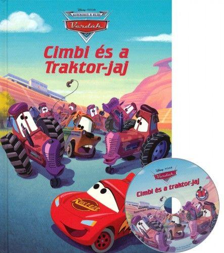 Cimbi és a Traktor-jaj + mese CD