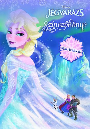 Disney Jégvarázs - Színezőkönyv matricákkal!