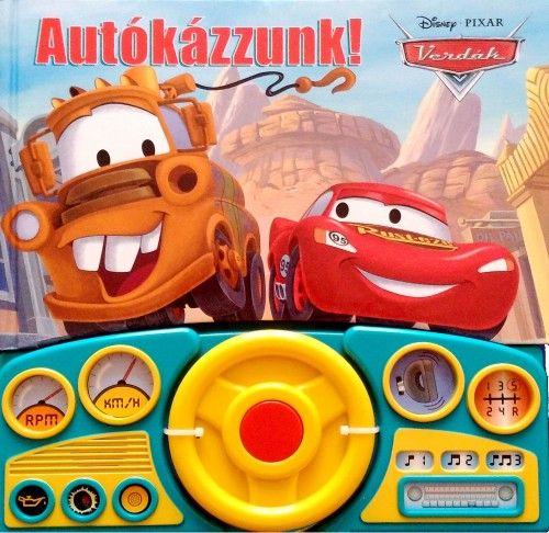 Disney Pixar Verdák - Autókázzunk!