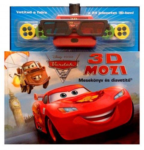 Disney Pixar Verdák 2. - 3D Mozi: Mesekönyv és diavetítő