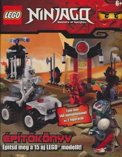 LEGO Ninjago - Építőkönyv: Építsd meg a 15 új LEGO modellt! - Shari Last pdf epub