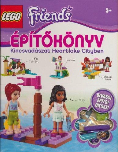 LEGO Friends - Építőkönyv: Kincsvadászat Heartlake Cityben - Victoria Taylor |